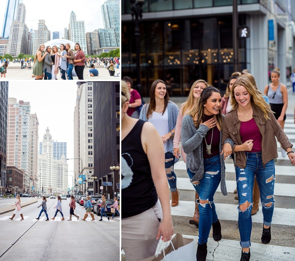 Mager Image senior spokesmodels take Chicago