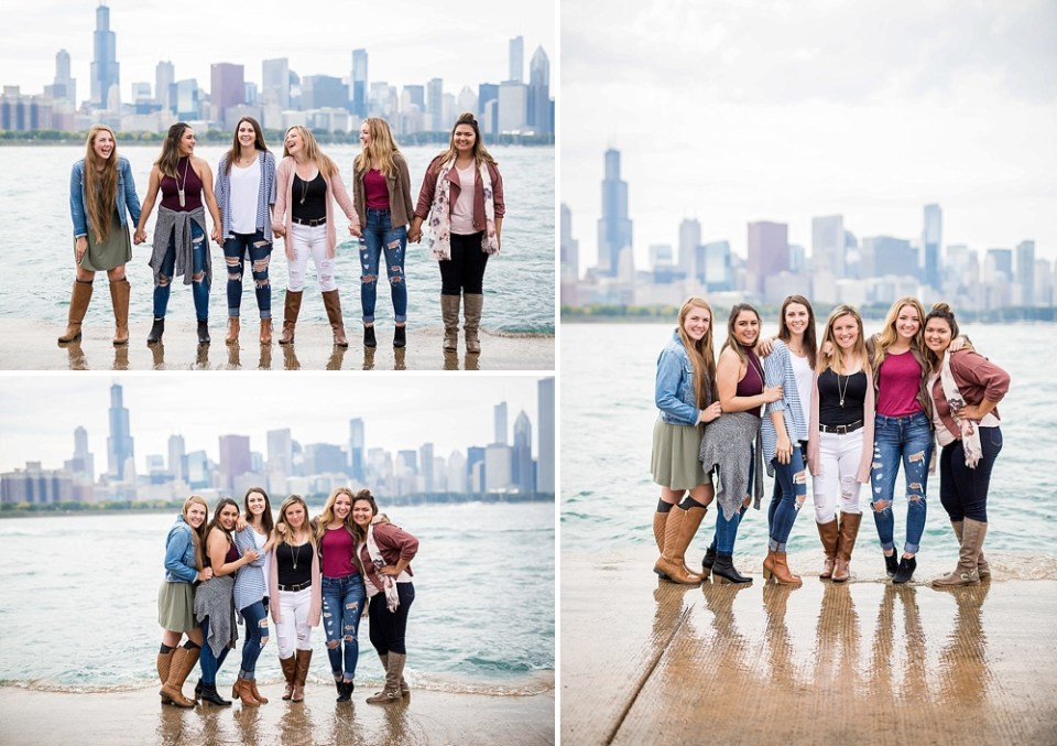 senior pics in the Chicago the city of broad shoulders