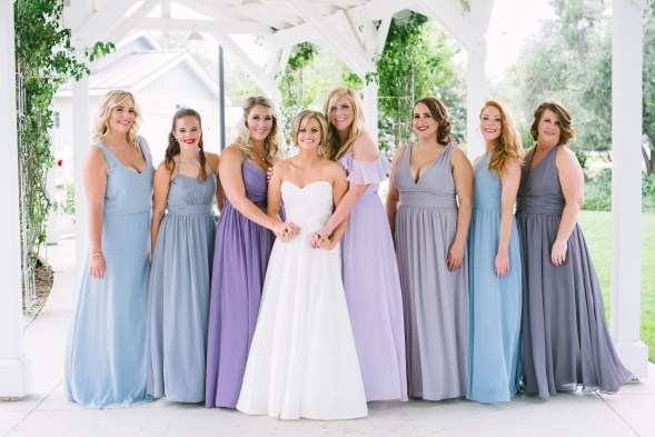 providing services for the bride and bridesmaids