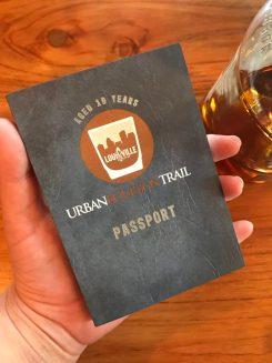 Louisville Urban Bourbon Trail passport