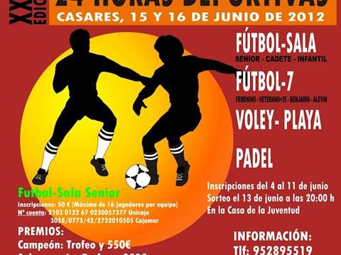 Casares 24 hours Sports Tournament