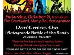 Sotogrande Battle of the Bands poster