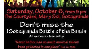 Sotogrande Battle of the Bands poster