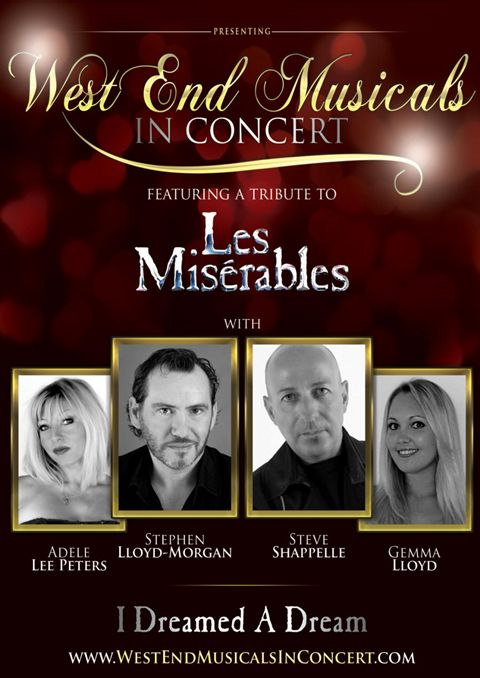 West End Musical in Concert poster
