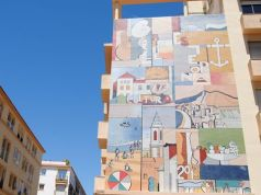 Estepona Mural by Nestor Plada