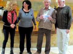 Areme donation to Age Concern