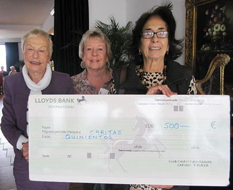 CAP donation to Caritas