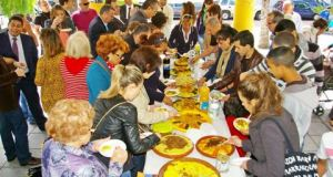 Tawassol couscous day in Estepona