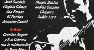 XXXIV Manilva Flamenco Festival poster