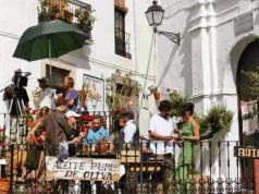 Filming in Casares
