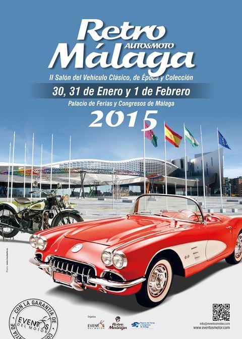 Retro Malaga Poster