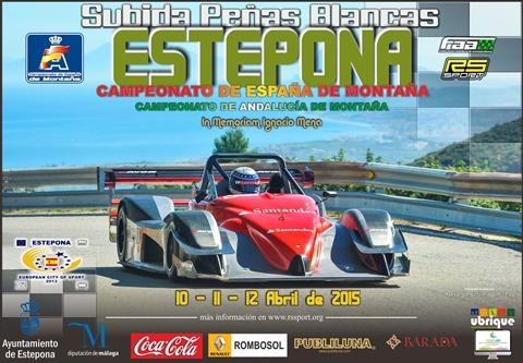Estepona hill climb poster
