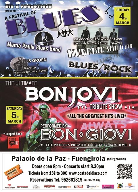 Blues and Bon Giovi