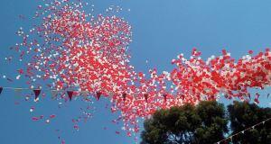 Gibraltar Balloon Release