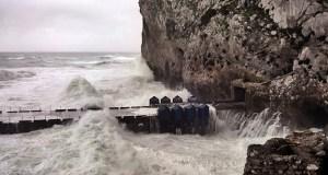 Gibraltar wave power