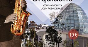saxophonist Josh Podaderaez