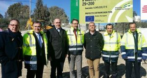 Casares Gaucing roadworks