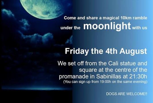 Moonlight ramble