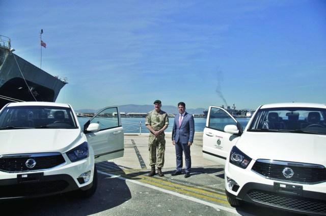Gibraltar aid for the Caribbean