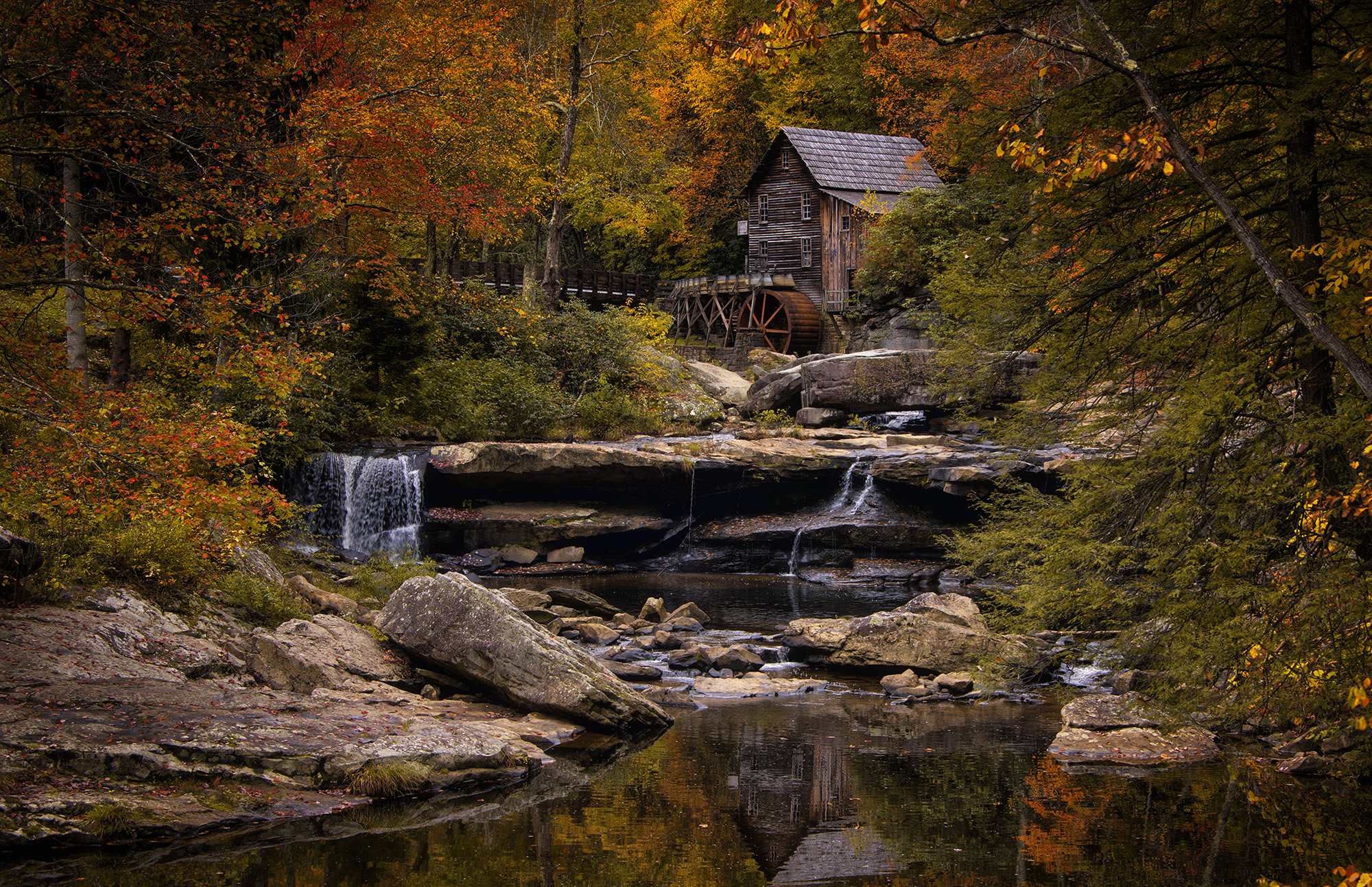 Finding Autumn In Babcock State Park | The Resonant Landscape