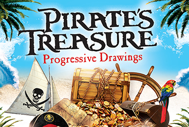 Pirate's Treasure Progressive Drawings