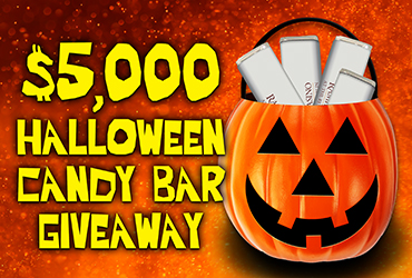 $5,000 Halloween Candy Bar Giveaway
