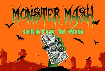 Monster Mash Scratch-N-Win Sundays