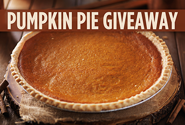 Image result for pie giveaway