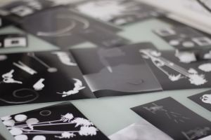 Read more about the article Found Object Photograms & Cyanotypes at UArts' Summer Institute!