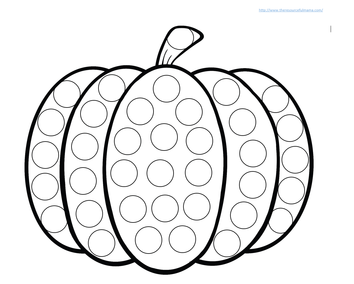 Do A Dot Marker Coloring Pages Coloring Pages