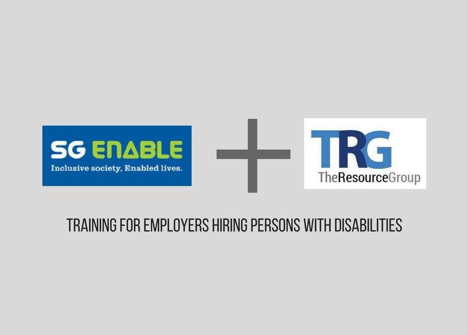 Training Provider For SGEnable – Employers Hiring People with Disabilities