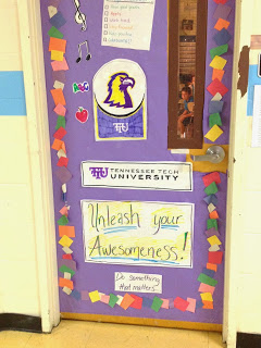 classroom door decoration for college awareness The Responsive Counselor
