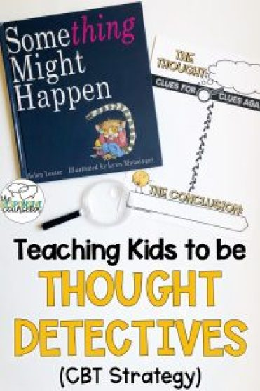 cbt strategy examining thoughts with elementary students