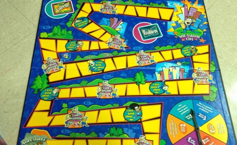 'The Self-Esteem Game' Board Game Review