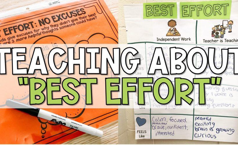 Best Effort Lesson
