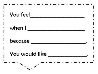 Reflective listening reproducible anchor chart