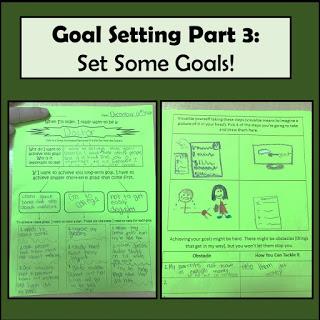 Goal Setting in 4th Grade – Part 3 – Setting Goals