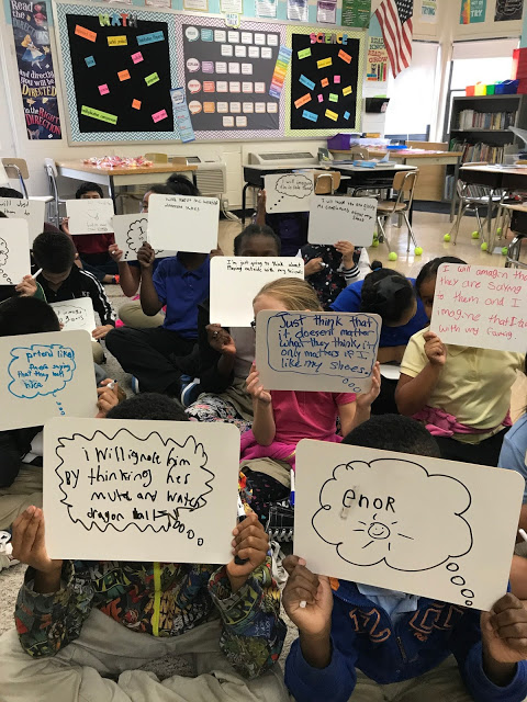 school counseling conflict resolution lesson plan teaching self-talk to ignore