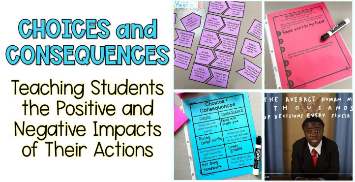 choices and consequences activity