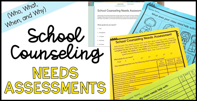 school counseling needs assessment