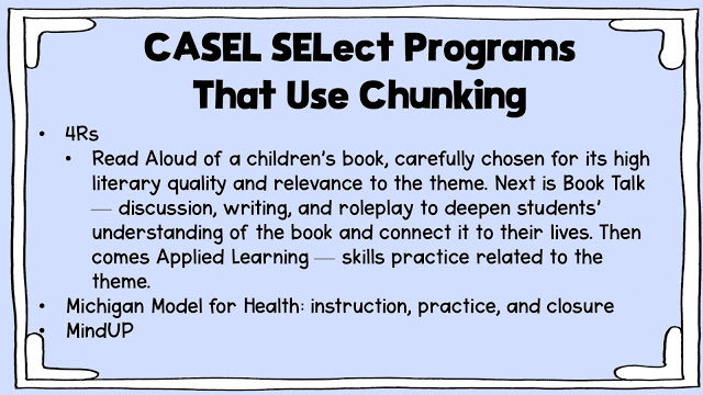 CASEL SELect Programs slide