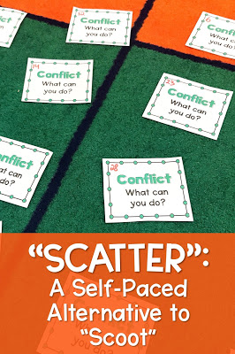 scatter activity as a self-paced alternative to scoot