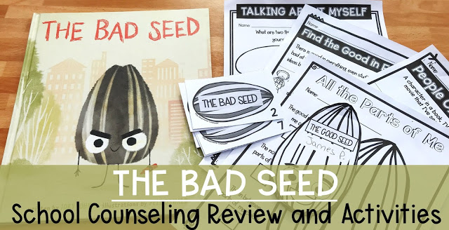 the bad seed school counseling review and activities