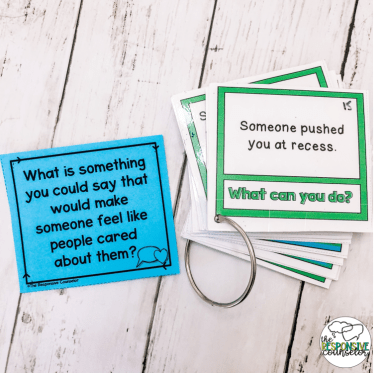 What is something you could say example card