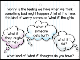 worry what if thoughts for kids