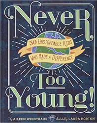 never to young by aileen wentraub book cover