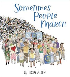 sometimes people march by tessa allen book cover