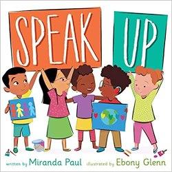 speak up by miranda paul book cover