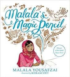 malala's magic pencil by malala yousafzai book cover