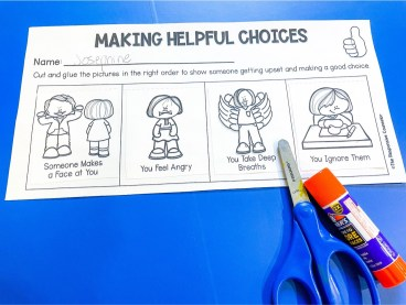 responsibility activity for kids